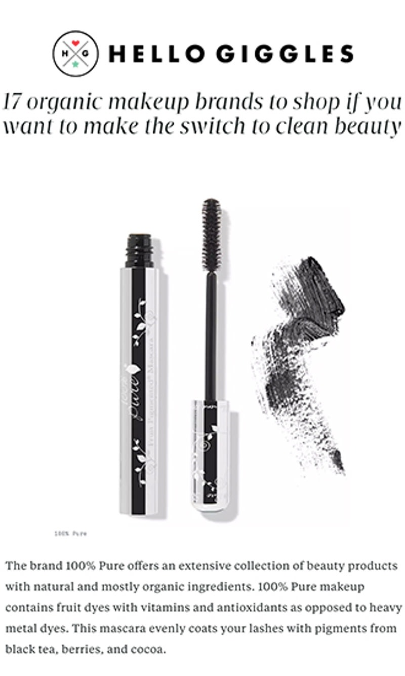 d757894deb1 Fruit Pigmented® Ultra Lengthening Mascara | 100% PURE