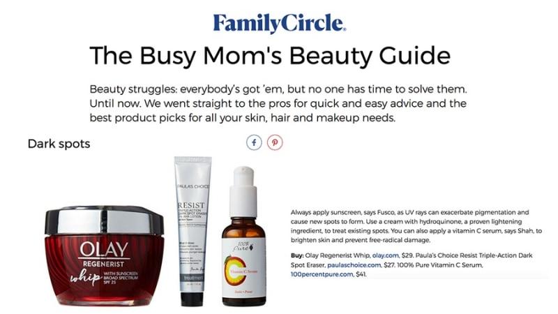 Press Release: Family Circle Magazine
