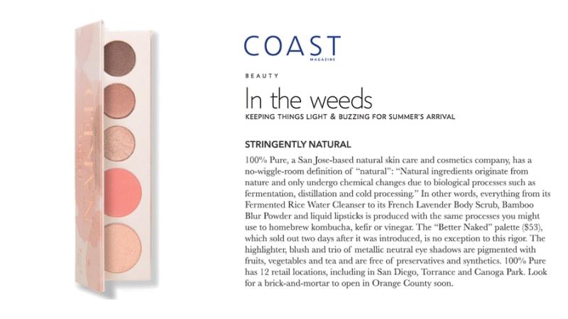 Press Release: Coast Magazine