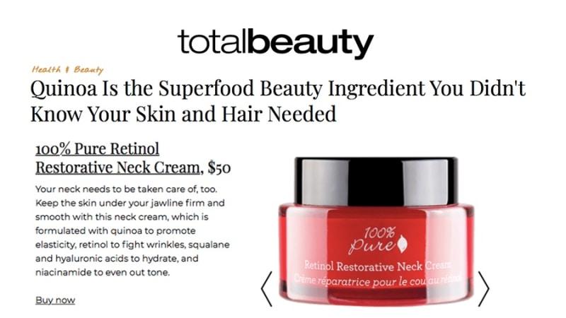 Press Release: Total Beauty