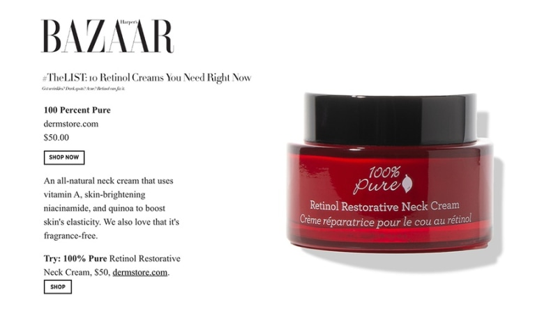 Press Release: Harper's Bazaar