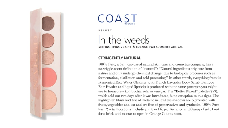 Press Release: Coast Magazine