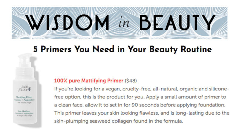 Press Release: Wisdom in Beauty