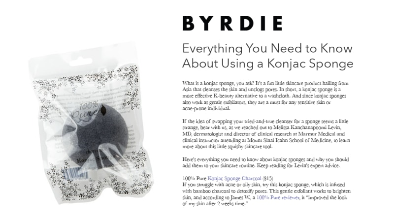 Press Release: Byrdie.com
