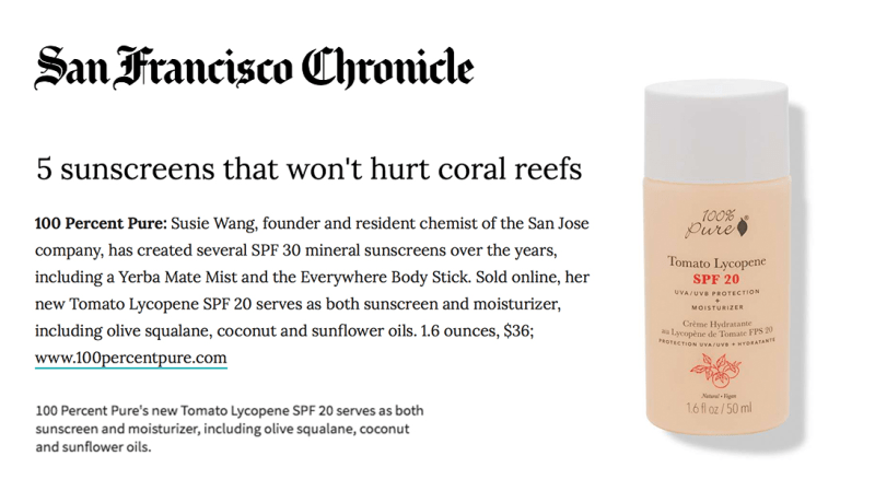 Press Release: San Francisco Chronicle