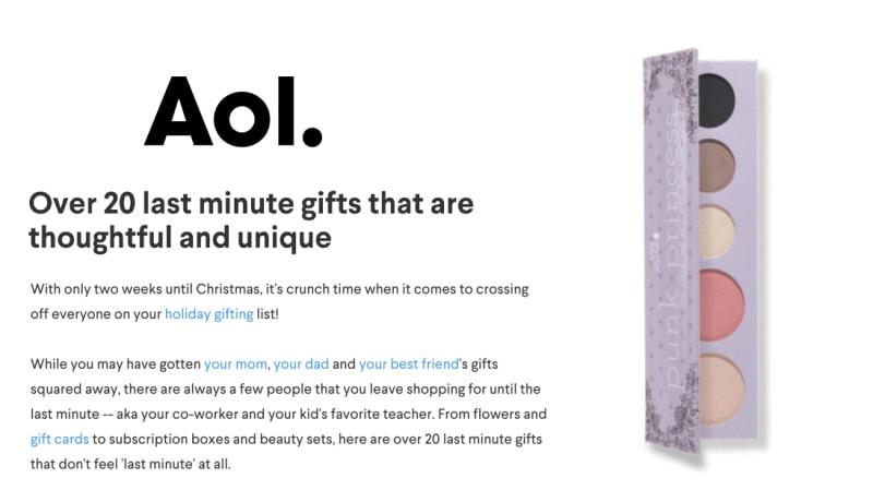 Press Release: AOL.com