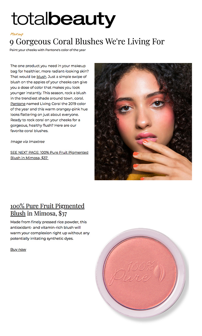Fruit Pigmented® Blush